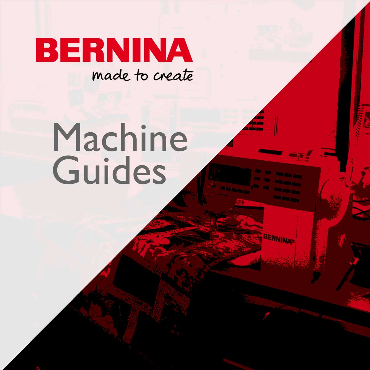 Bernina Machine Guide Classe